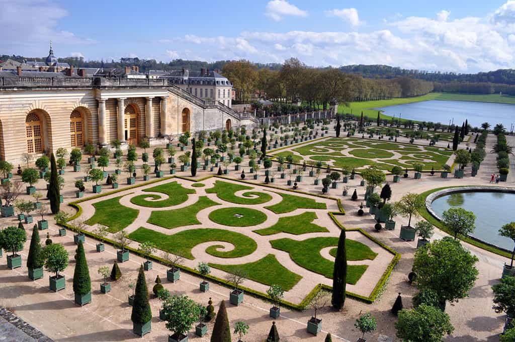 Versailles outside of Paris