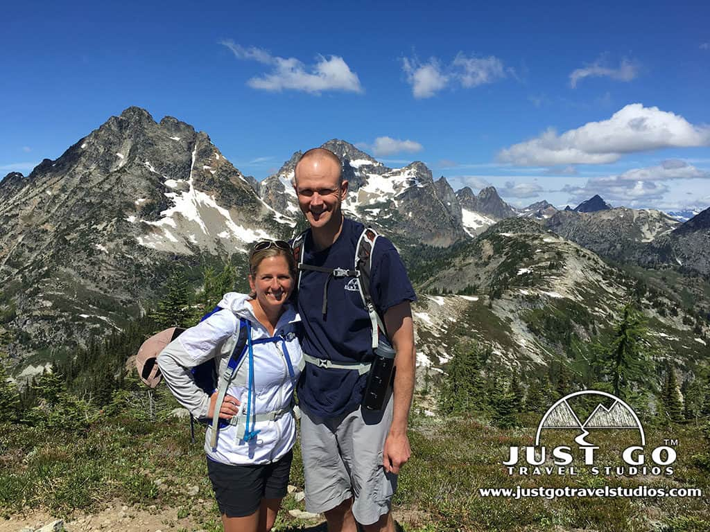 Amy and Pete of Just Go Travel Studios_North Cascades National Park