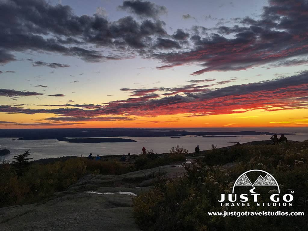 Amy and Pete of Just Go Travel Studios_Waking up at 4 AM for sunrise on Cadillac Mountain in Acadia National Park
