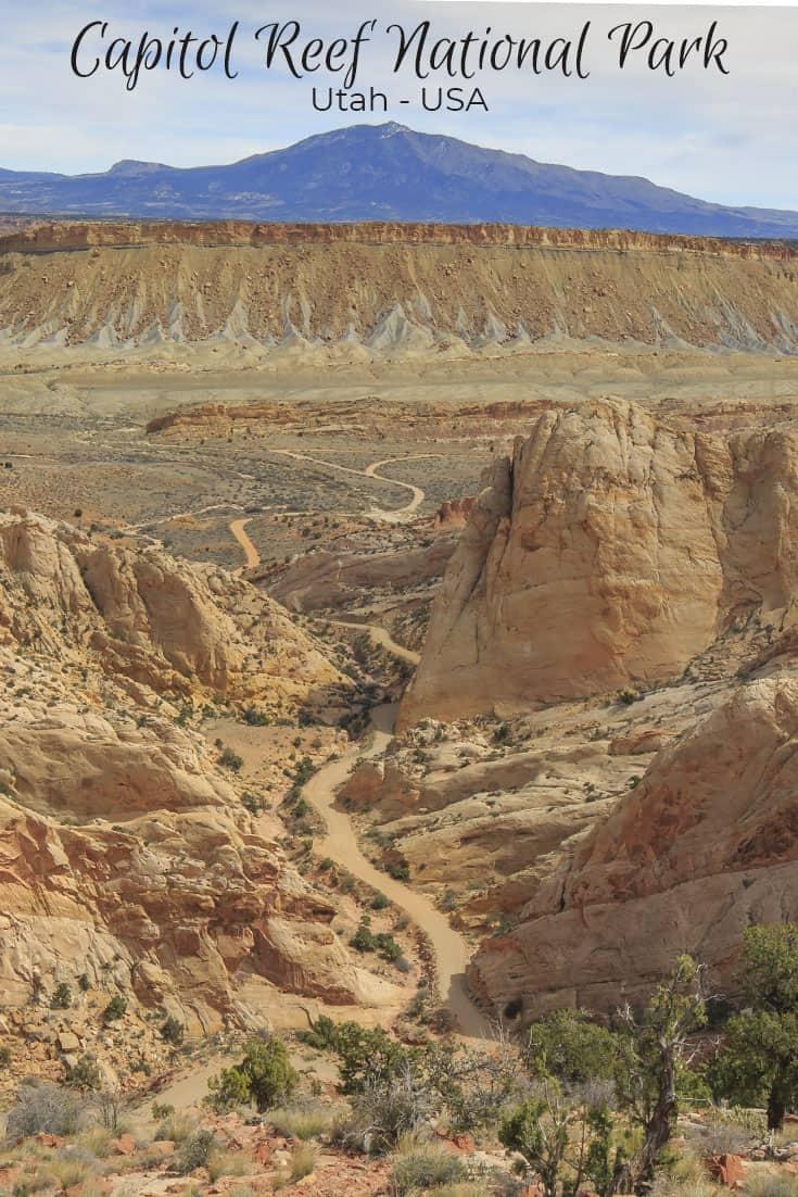 Capitol Reef National Park Utah USA