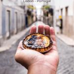 Pasteis de Nata and Pasteis de Belem in Lisbon Portugal