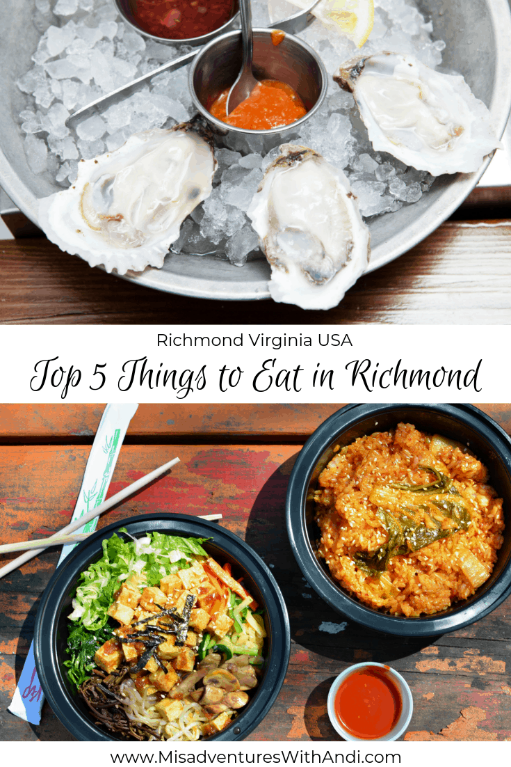 Best places to eat in Richmond Virginia - Top 5 Things to Eat in Richmond Virginia