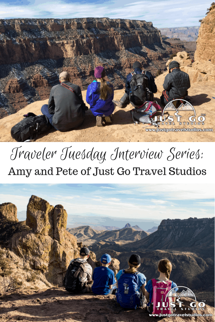 Traveler Tuesday Travel Blogger Interview with Amy and Pete of Just Go Travel Studios