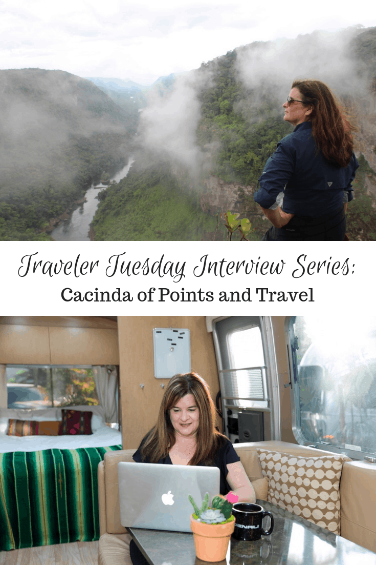 Traveler Tuesday – Cacinda of Points and Travel