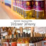 Volcano Winery Hawaii Big Island USA