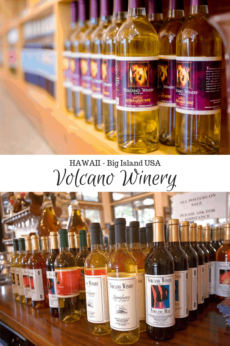 Volcano Winery Hawaii Big Island USA
