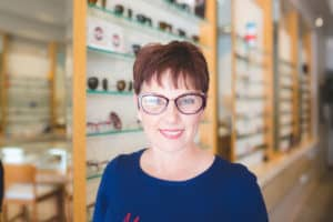 Andi in the Runner Up Lafont Frames On my Wishlist