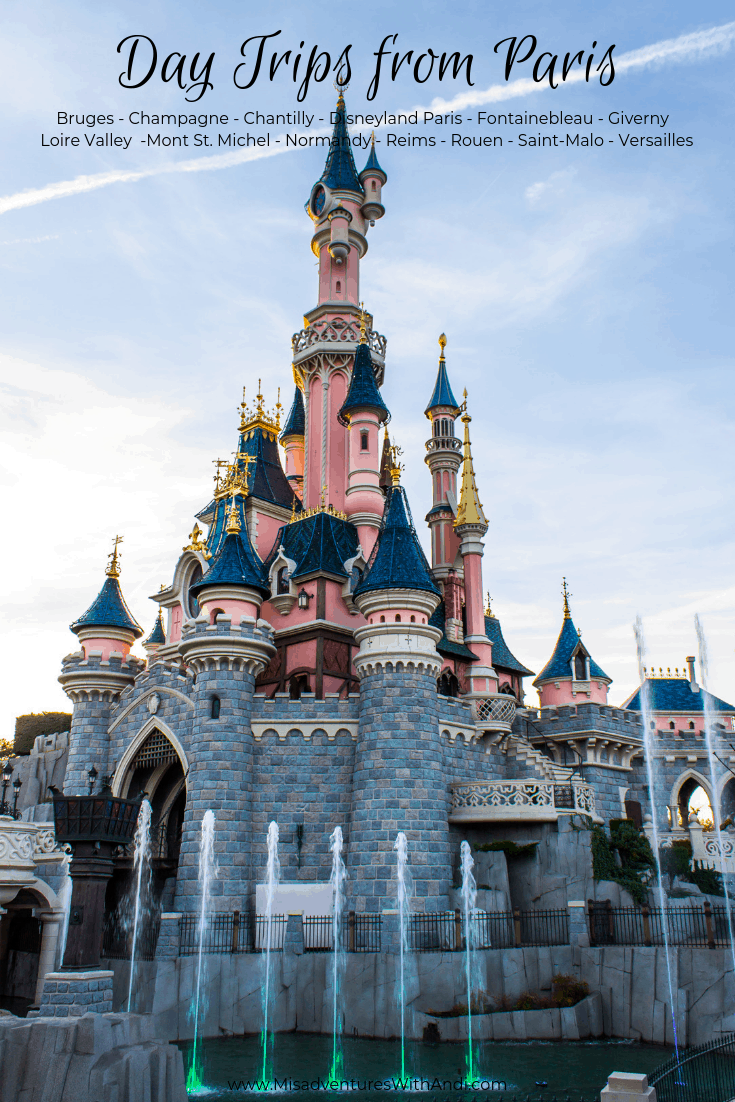 Day Trips from Paris France - Disneyland Paris