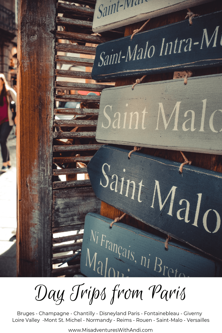 Day Trips from Paris France - Saint Malo