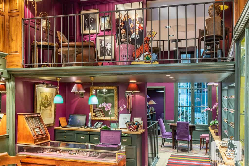 Inside the Lafont Paris Boutique in Paris