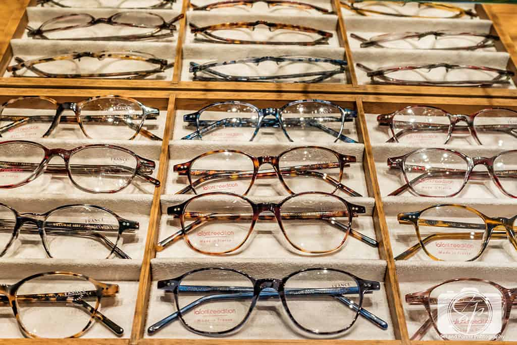 Lafont Paris Frames in the Paris Boutique