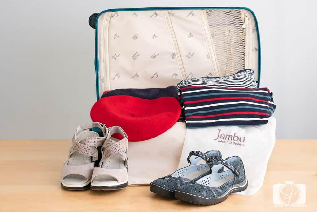 My Jambu Shoes Ready to Travel