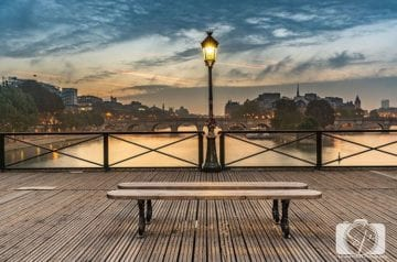 The Best Instagram and Photo Spots In Paris and Where To Find Them - Paris Bridges Pont des Arts hero