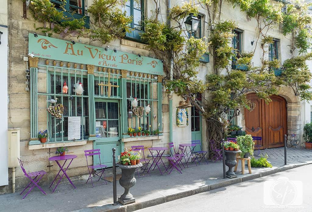 The Best Instagram and Photo Spots In Paris and Where To Find Them - Paris Restaurants Au Vieux Paris d'Arcole