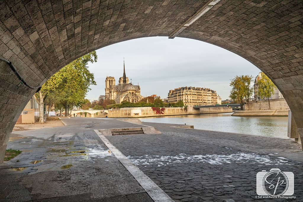 The Best Instagram and Photo Spots In Paris and Where To Find Them - Paris along the Seine Photo of Notre Dame from the Seine