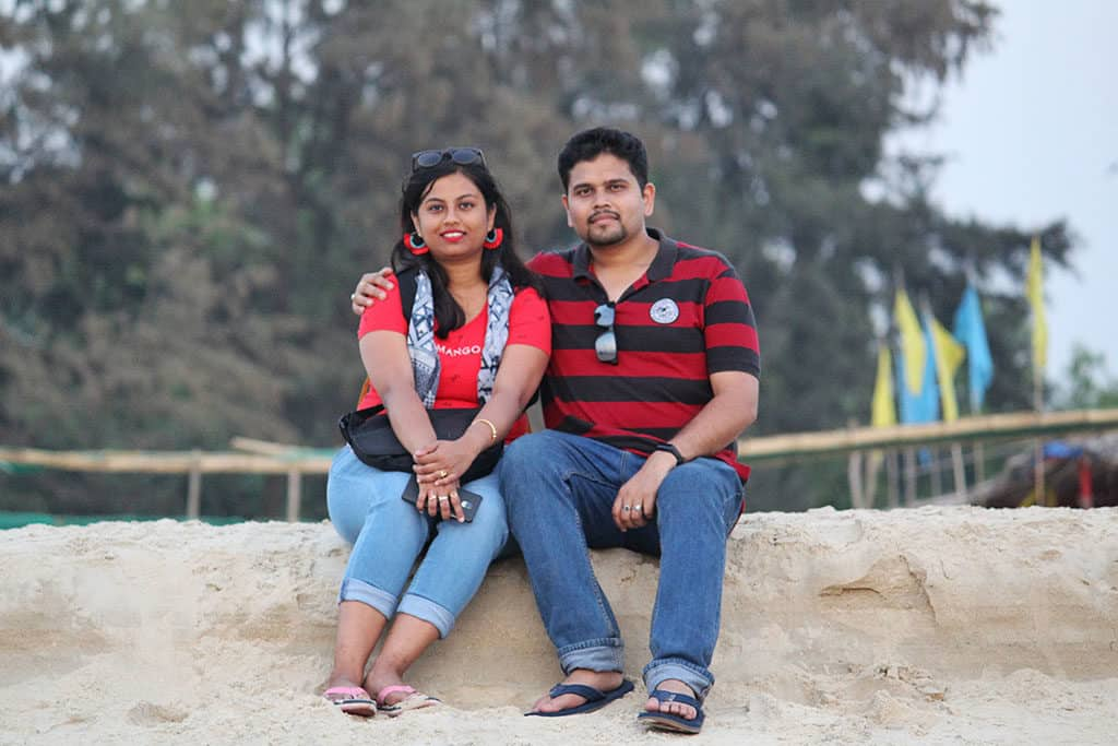 Traveler Tuesday - Going Places with Anwesha with her husband