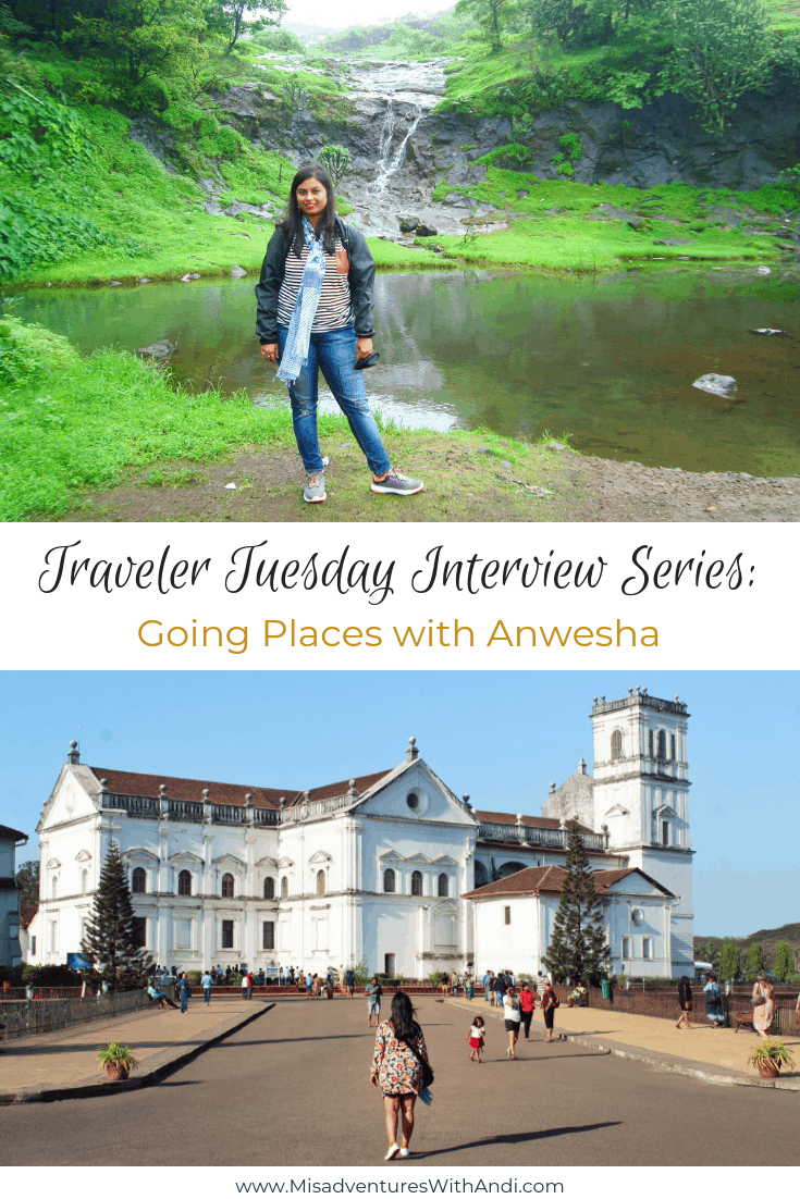 Traveler Tuesday - Going Places with Anwesha
