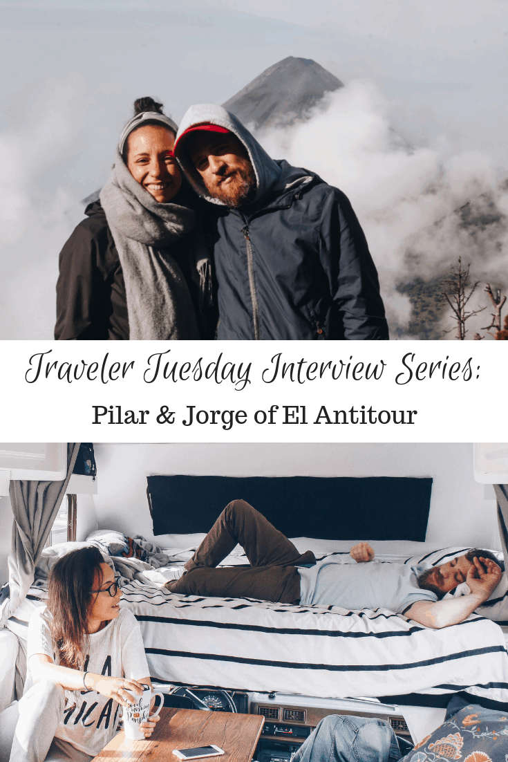 Traveler Tuesday Travel Blogger Interview with Pilar & Jorge of El Antitour