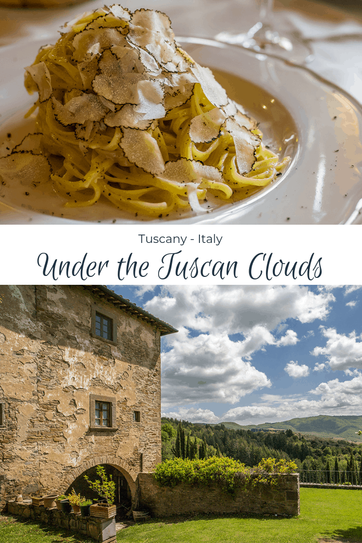 Under the Tuscan Clouds - Tuscany Italy