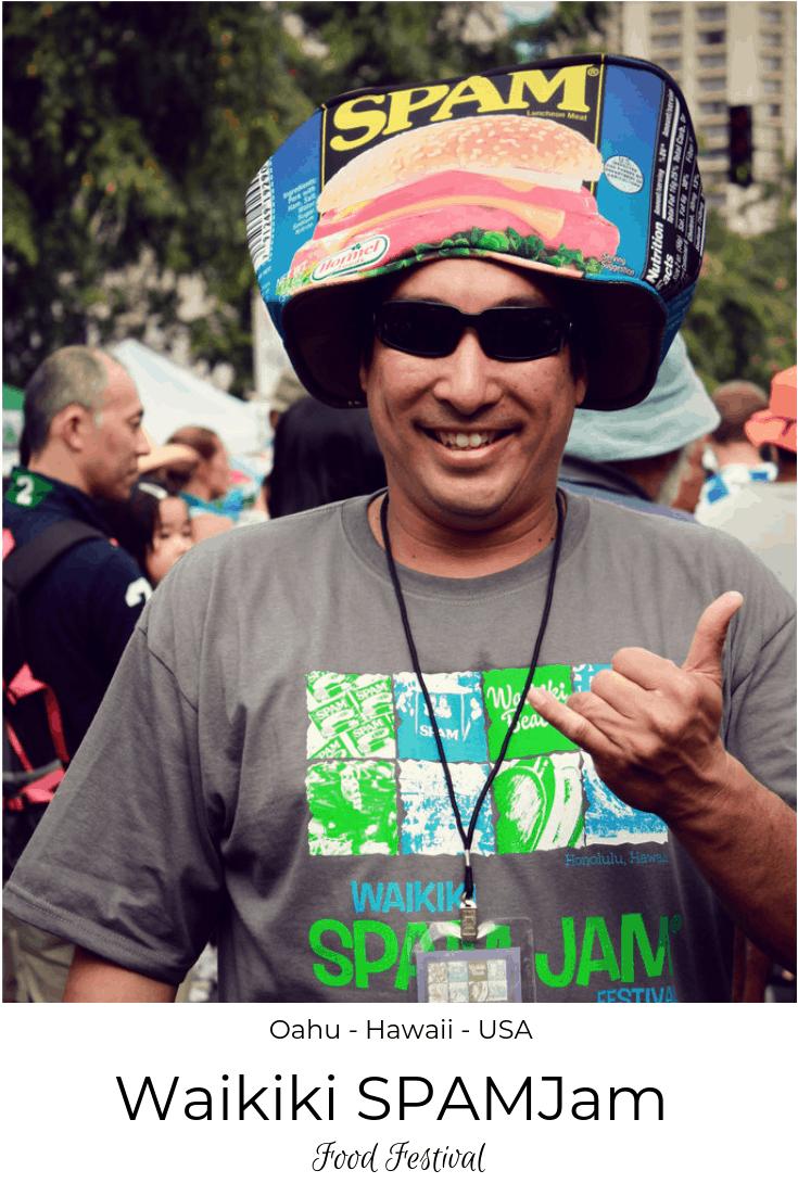 Waikiki SPAMJam Festival Oahu Hawaii USA