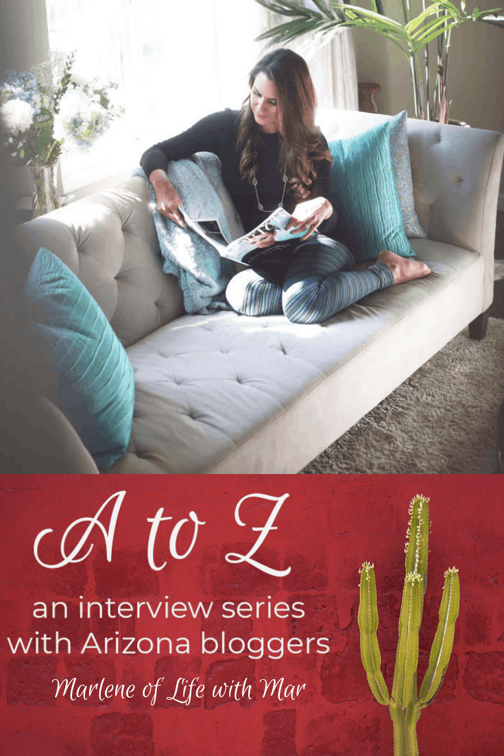A to Z – Marlene of Life with Mar