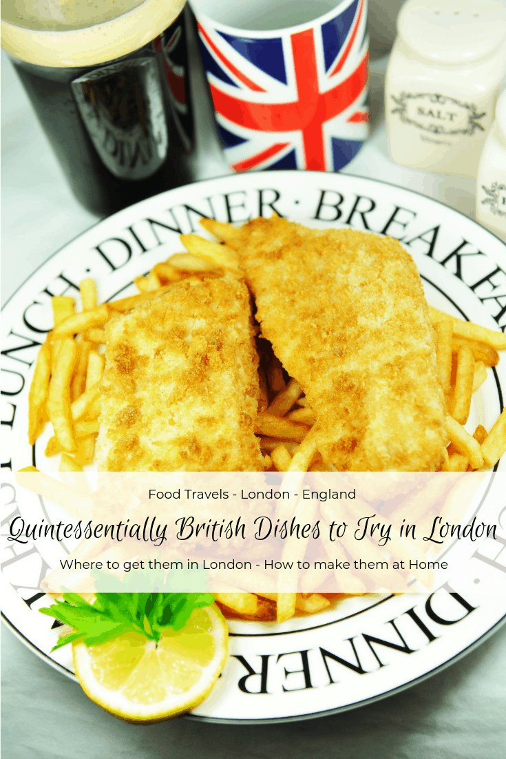 Quintessentially British dishes