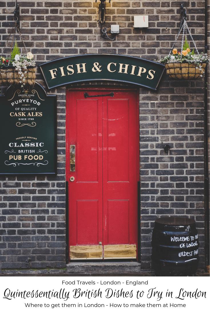 Quintessentially British dishes