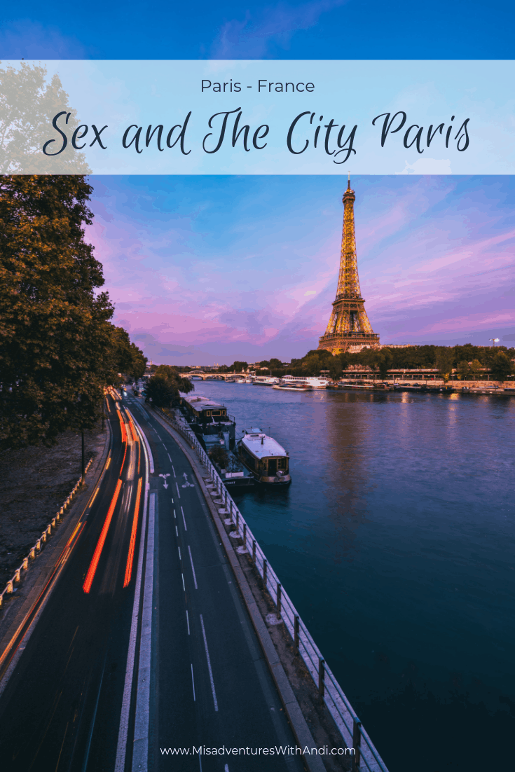 Sex and The City Paris France
