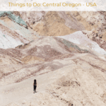 Things to Do Central Oregon - USA - Painted Hills John Day Fossil Beds National Monument