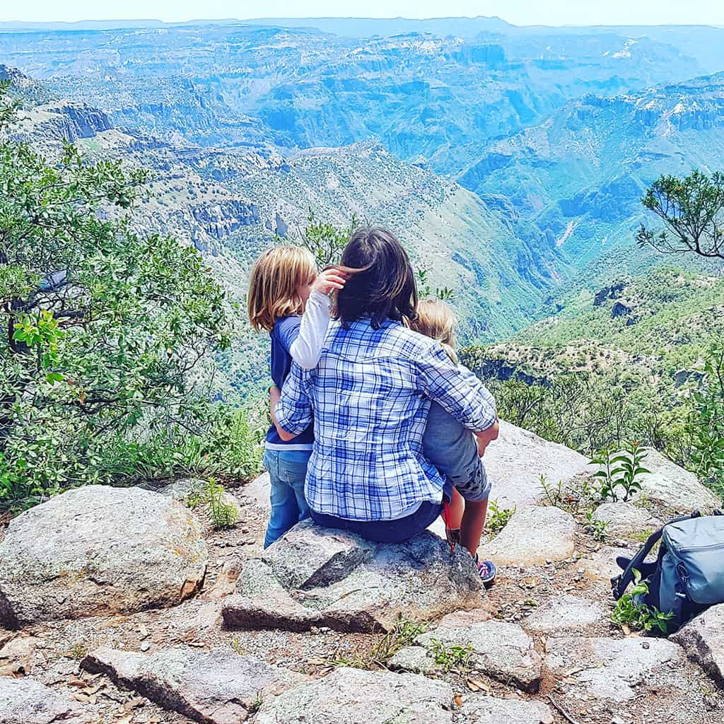 Traveler Tuesday - Cassie of Mexico Cassie_Cassie and kids in Copper Canyon (1)