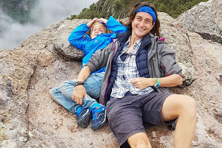 Traveler Tuesday - Cassie of Mexico Cassie_Cassie and kids in Copper Canyon (2)