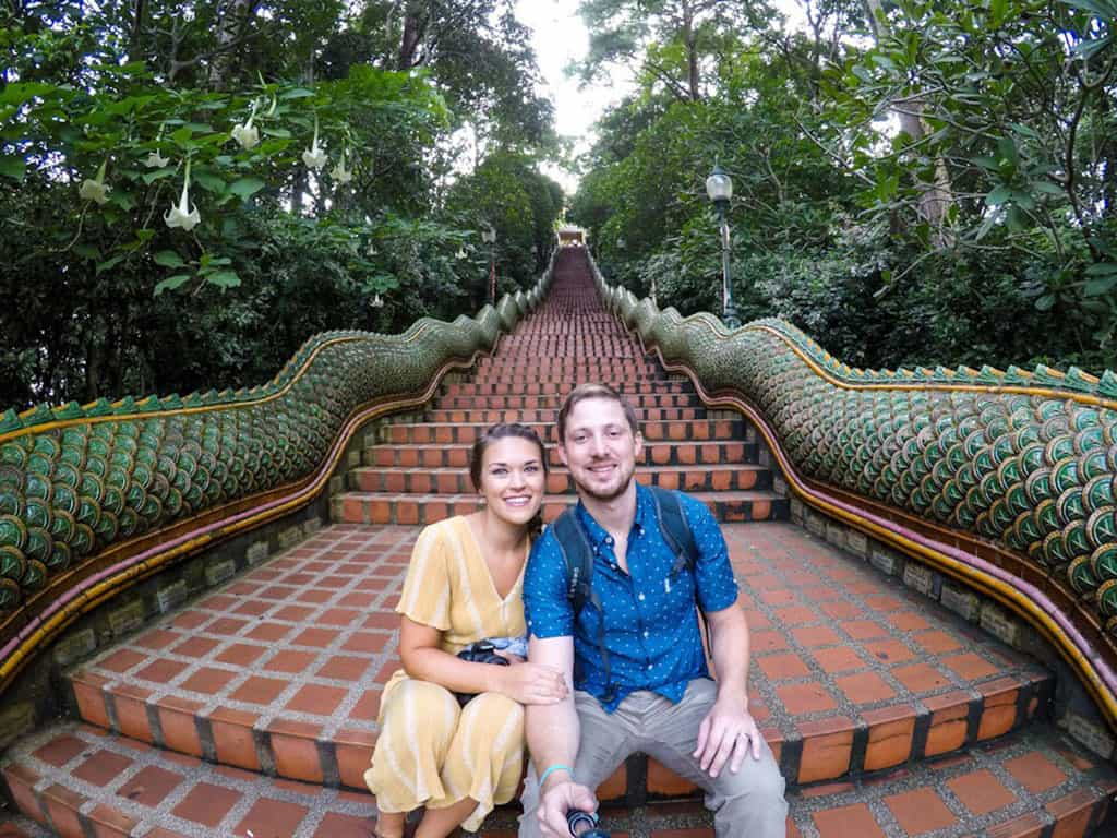 Traveler Tuesday - Lauryn of Le Travels_Me and my husband Eric in Chiang Mai, Thailand