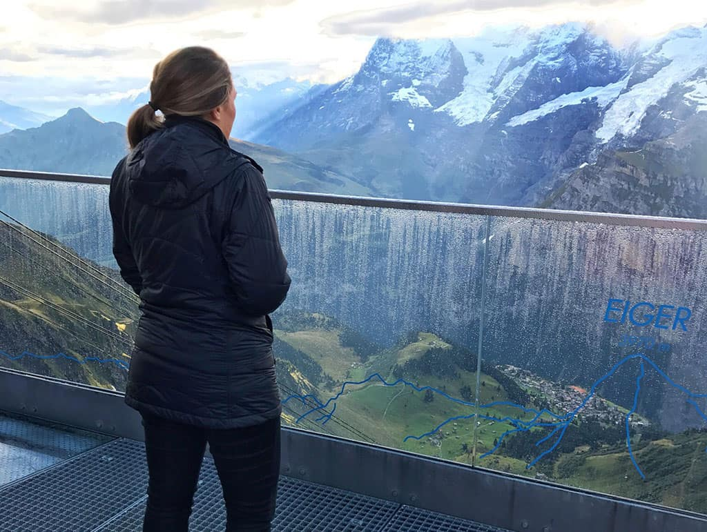 Traveler Tuesday - Lauryn of Le Travels_My travel jacket kept me warm even on the highest peaks in the Swiss Alps