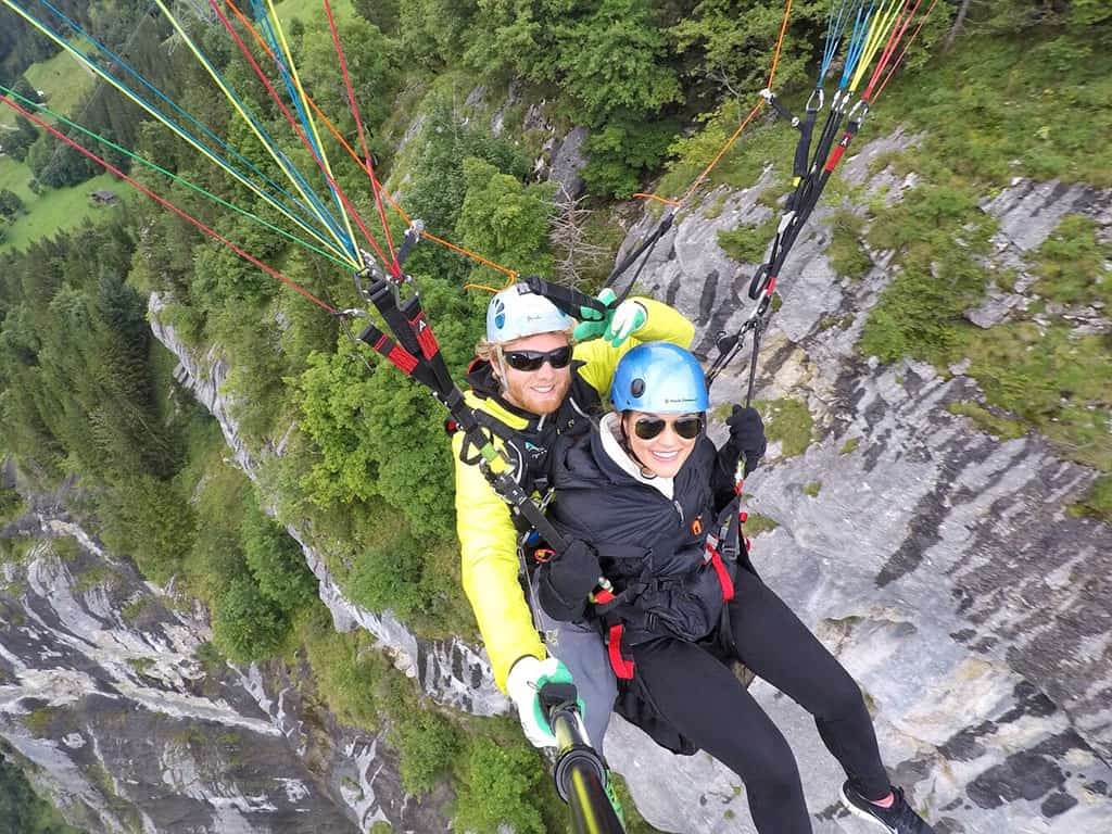 Traveler Tuesday - Lauryn of Le Travels_Paragliding in Murren, Switzerland