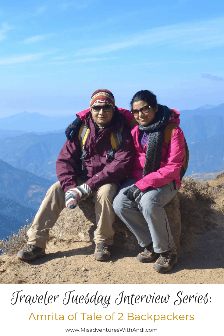 Traveler Tuesday - Amrita of Tale of 2 Backpackers