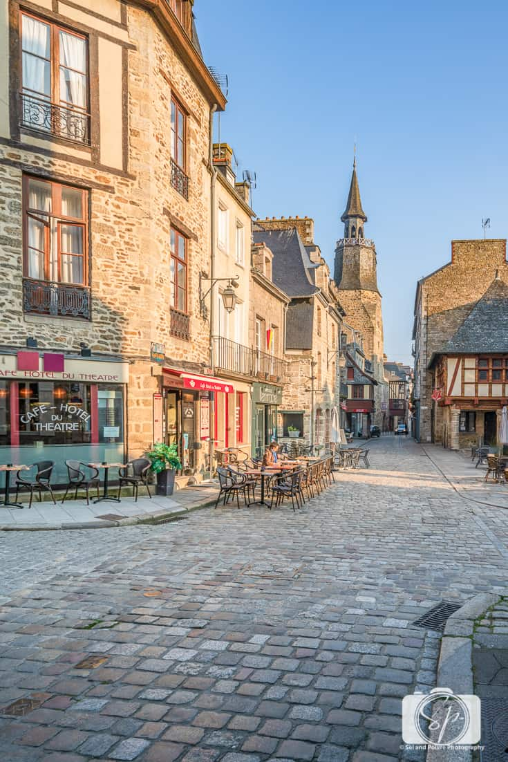 The Clock Tower in Dinan France