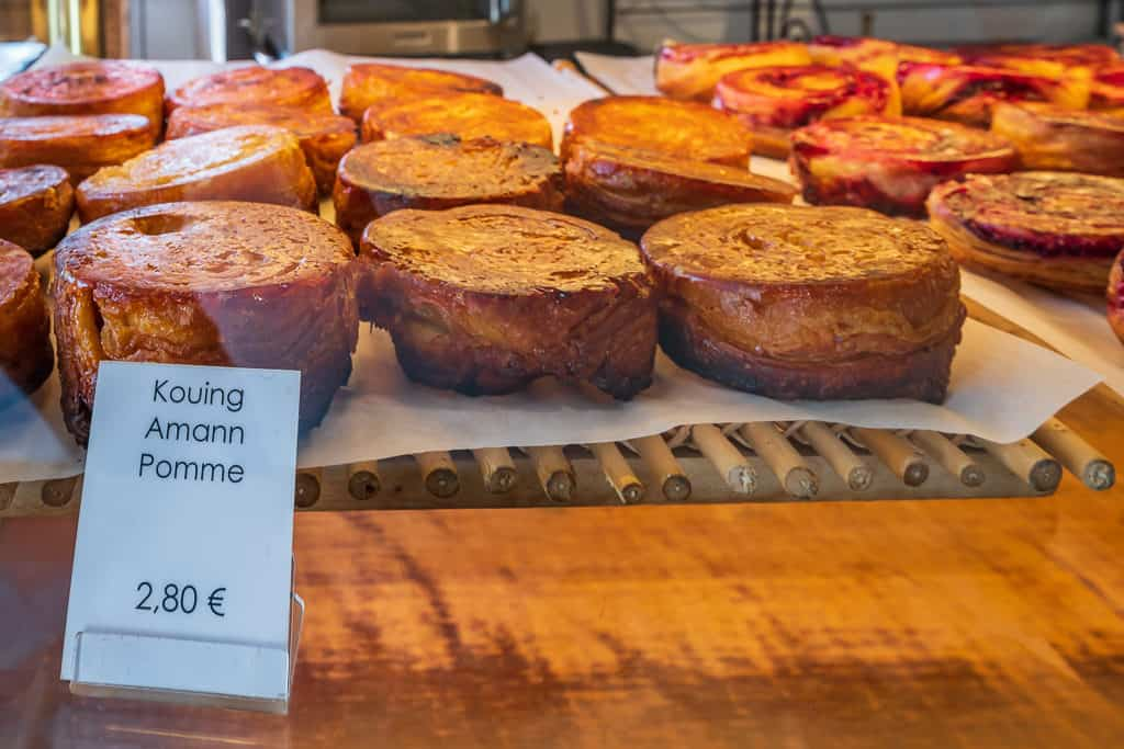 Kouign-amann from La Maison De Tatie Jeanne in Dinan Brittany France