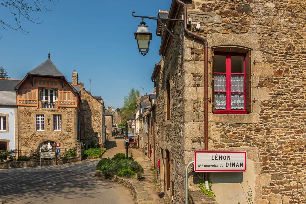 Lehon village of Dinan France