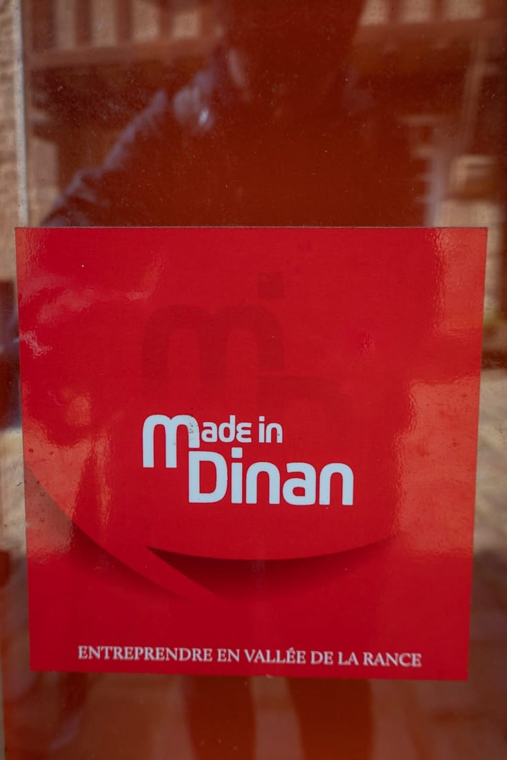 Made in Dinan Sticker