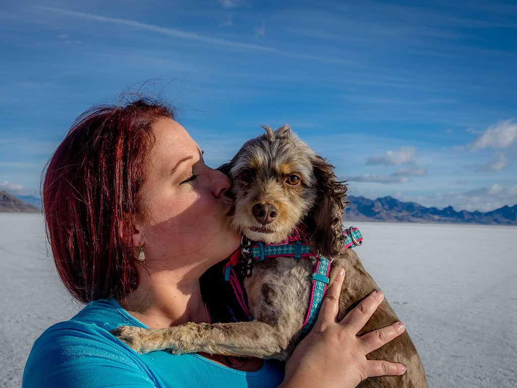 Traveler Tuesday - Janiel of Culture Trekking_Me and Zoey at the Salt Flats