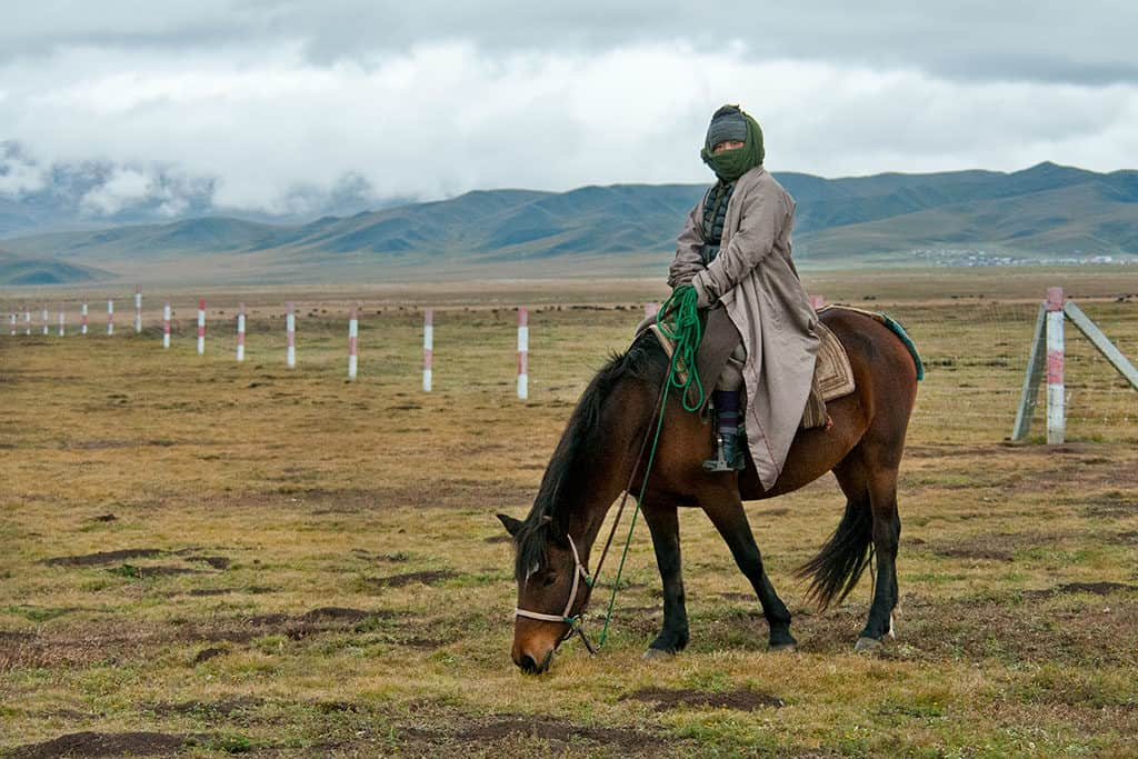 Traveler Tuesday - Margarita of The Wildlife Diaries_Tibetan-nomad-on-Ruoergai-grassland