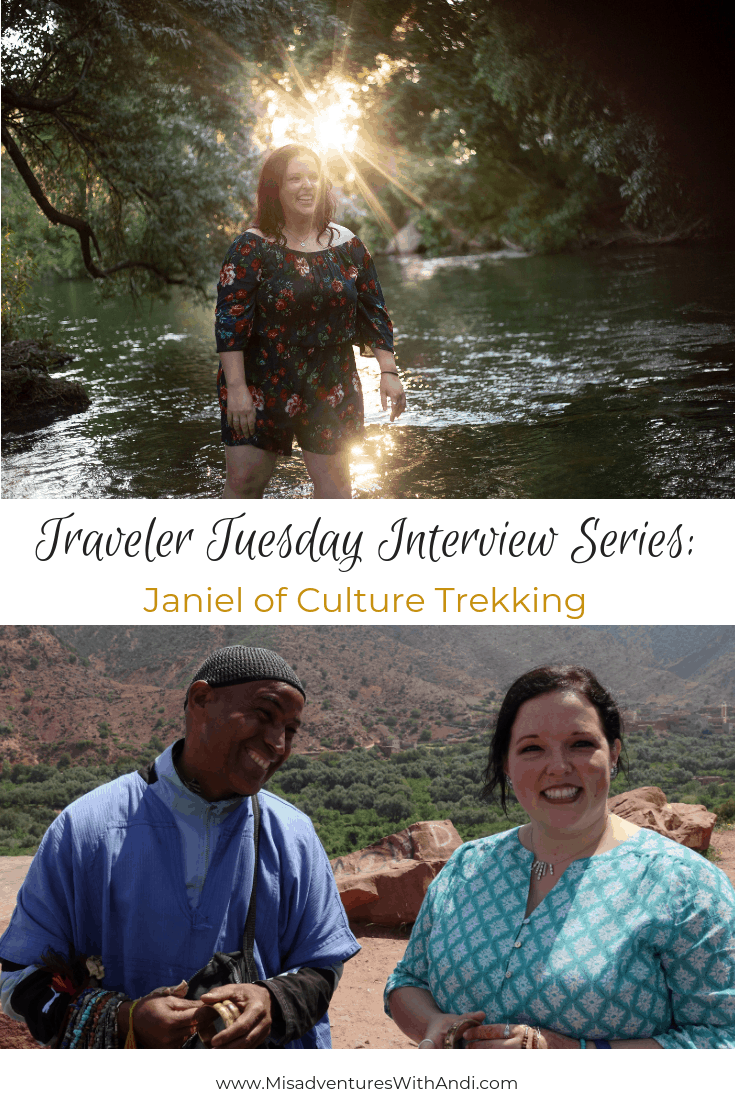 Traveler Tuesday Travel Blogger Interview with Janiel of Culture Trekking
