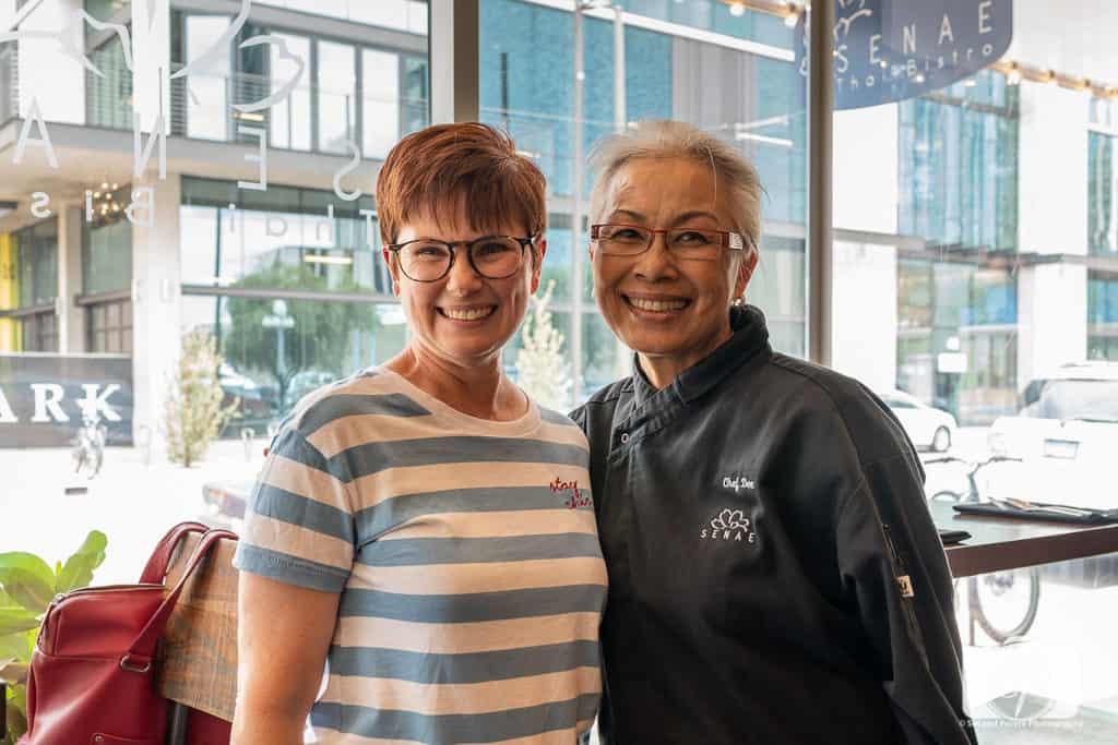 Andi and Cheff Dee at Senae Thai Bistro in Tucson