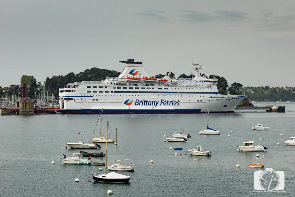 Brittany Ferries Saint Malo France