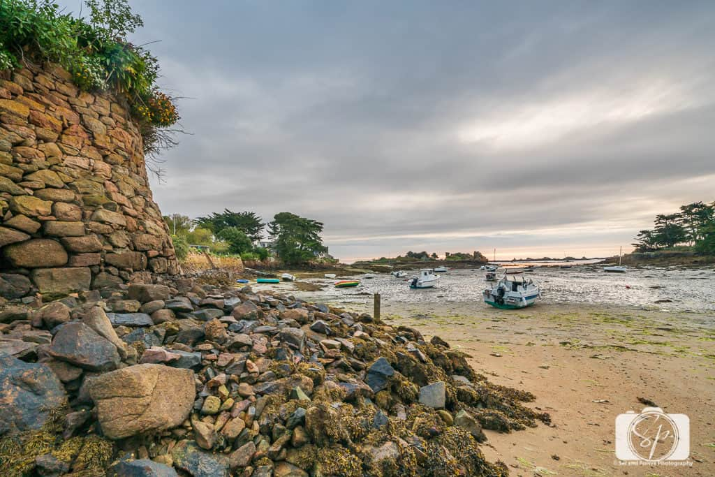 Ile de Brehat Brittany France