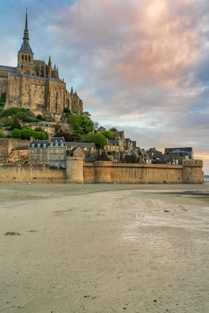 Mont St Michel Normandie France