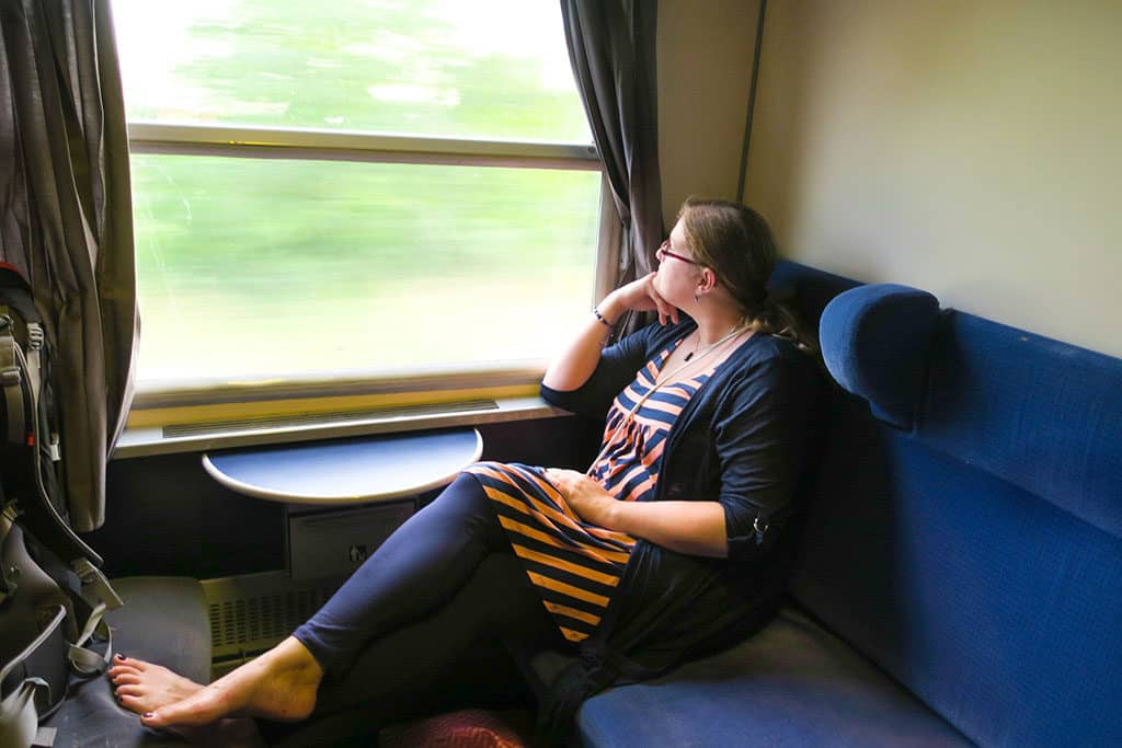 Naomi of Probe around the Globe_train