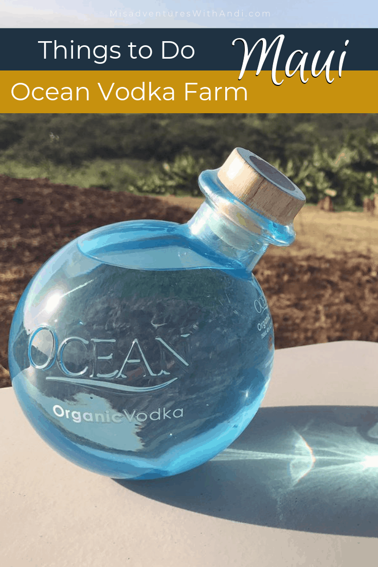 Ocean Vodka Farm Maui Hawaii USA