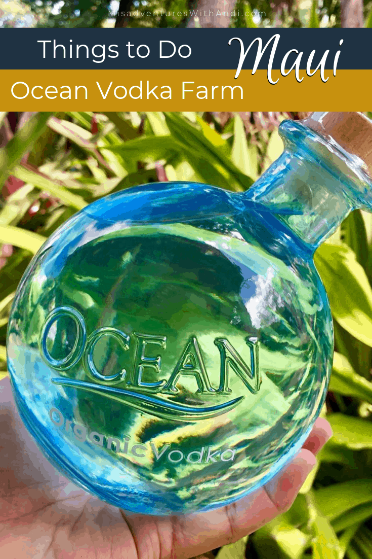 Ocean Vodka Farm Maui Hawaii USA