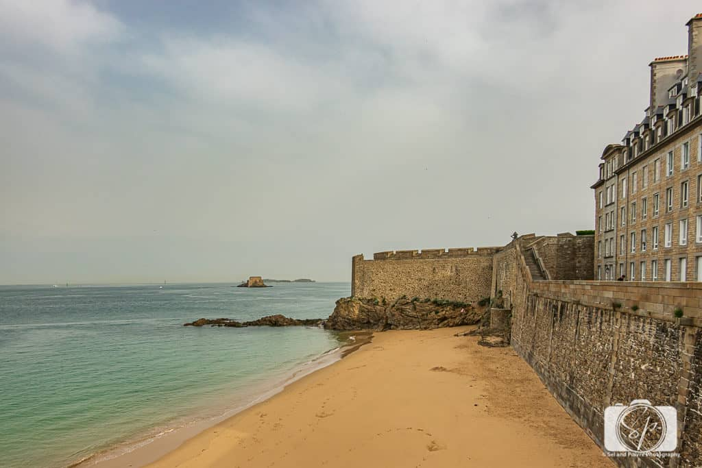 Saint Malo-Ramparts and Beach
